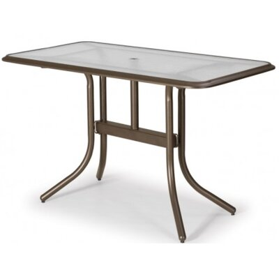 Glass Top Rectangular Table