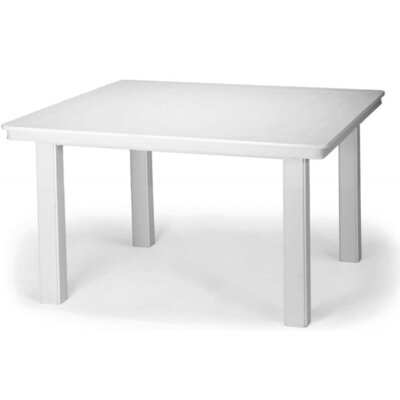 Marine Grade Polymer 42 Square Chat Height Dining Table