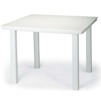 Marine Grade Polymer 42 Square Dining Table