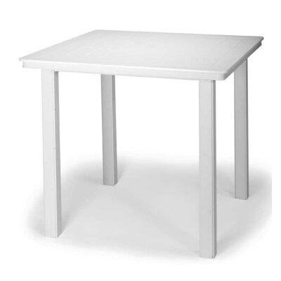 Marine Grade Polymer 42 Square Balcony Height Dining Table