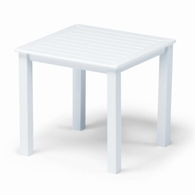 Marine Grade Polymer Square End Table