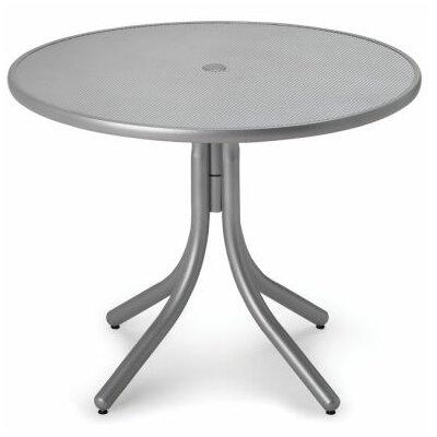 Embossed Aluminum 36 Round Dining Table