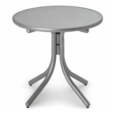 Embossed Aluminum 30 Round Bar Table