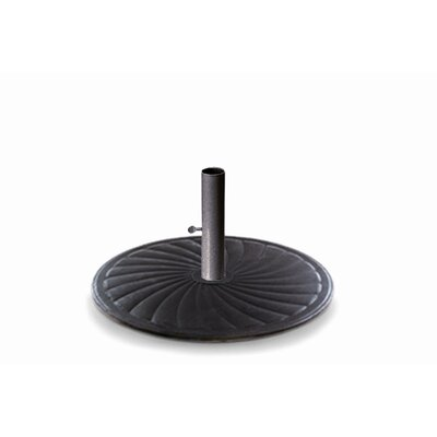 24 Round Cast Iron Market Umbrella Base