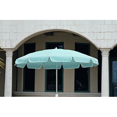 7.5 Drape Umbrella Fabric: A - Sky Blue