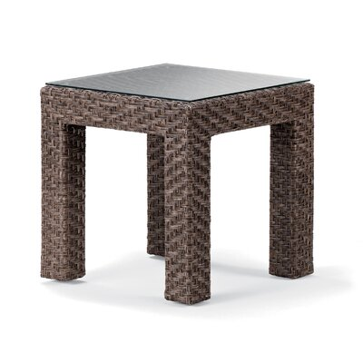 La Vie Side Table Finish: Java Wicker