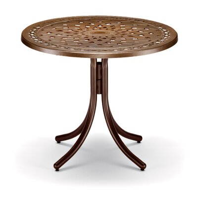 Counter Height Dining Table Aged Bronze - Product photo