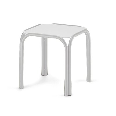 Obscure Side Table Finish: Gloss White