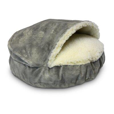Cozy Cave Luxury Orthopedic Hooded Dog Bed Size: Large - 35