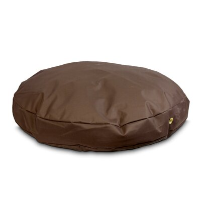 Snoozer Dog Pillow/Classic with Waterproof Covering? Size: Large (48 W), Color: Brown