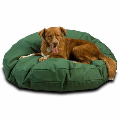Snoozer Dog Pillow/Classic with Waterproof Covering? Size: Large (48 W), Color: Green