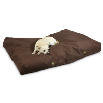 Waterproof Pet Bed Size: Large (48 W), Color: Brown, Shape: Rectangular