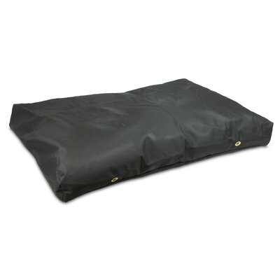 Snoozer Dog Pillow/Classic with Waterproof Covering? Size: Large (4 H x 54 W x 36D), Color: Black