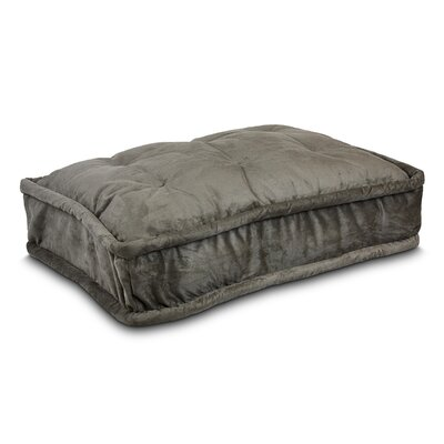 Luxury Pillow Top Pet Bed Size: Large - 36 L x 25 W, Color: Dark Chocolate