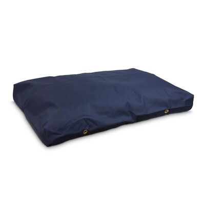 Snoozer Dog Pillow/Classic with Waterproof Covering? Size: Small (4 H x 44 W x 28 D), Color: Navy