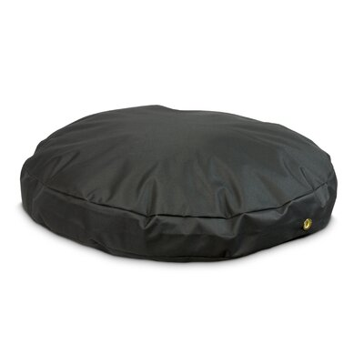 Snoozer Dog Pillow/Classic with Waterproof Covering? Size: Large (48 W), Color: Black