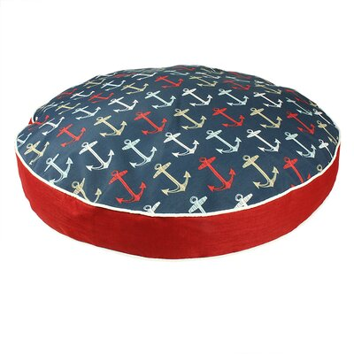 Pool and Patio Anchors Dog Bed Size: Medium (34 L x 34 W)