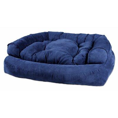 Overstuffed Luxury Dog Sofa Size: Small (30