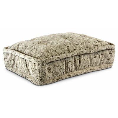 Luxury Pillow Top Pet Bed Color: Amulet Shell, Size: Large - 36 L x 25 W