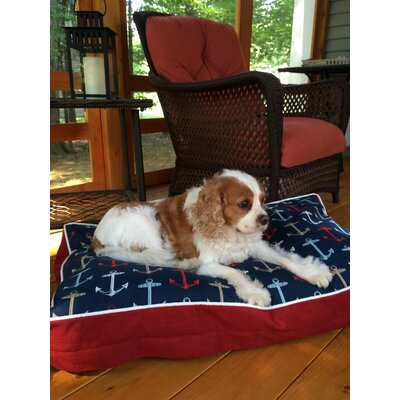 Pool and Patio Anchors Dog Bed Size: Medium (36 L x 21 W)