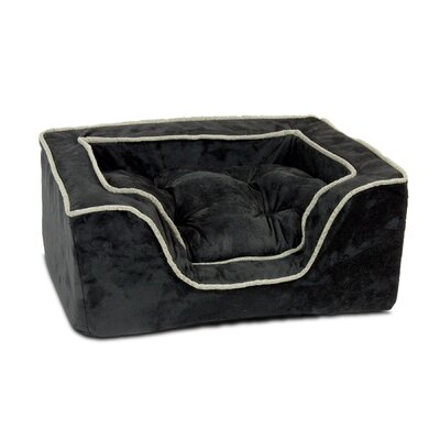 Luxury Square Nest Dog Bed Size: Large (27 L x 23 W)
