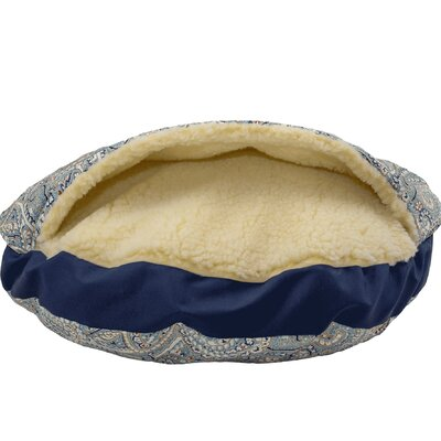 Wag Indoor/Outdoor Cozy Cave Hooded Dog Bed Size: Large (35 L x 35 W)