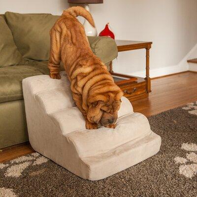 Scalloped 17.5 Pet Ramp Color: Buckskin