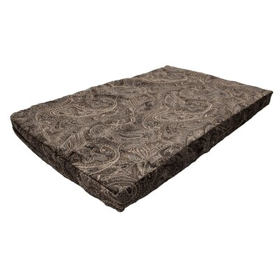 Show Dog Prem Forgiveness Crate Dog Pad Color: Laurel Mocha, Size: Small (23 W x 15 D)