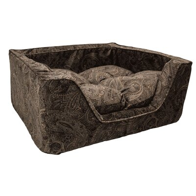 Show Dog Premium Bolster Size: Medium (23 L x 19 W), Color: Mocha