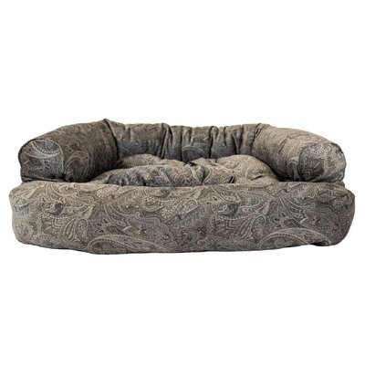 Show Dog Premium Overstuffed Bolster Dog Bed Size: Small (30 L x 20 W)