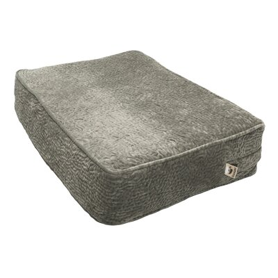 Show Dog Outlast Heating and Cooling Dog Bed Color: Piston Storm, Size: Large (23 W x 5 D)
