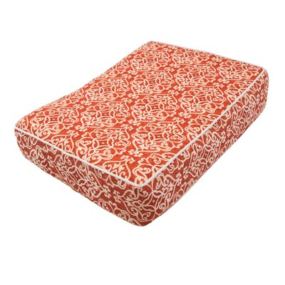 Wag Outlast� Heating and Cooling Dog Bed Color: Gondola Salmon, Size: X-Large (42 L x 26 W)