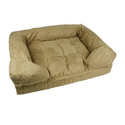 Forgiveness Dog Sofa Size: Medium (30 L x 20 W), Color: Peat / Coffee
