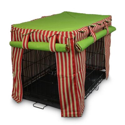 Cabana Pet Crate Cover Size: Large (23 W x 36 D)