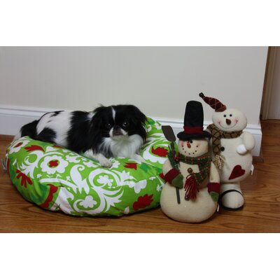 Holiday Dog Pillow/Classic Size: Medium (35 W x 35 D)