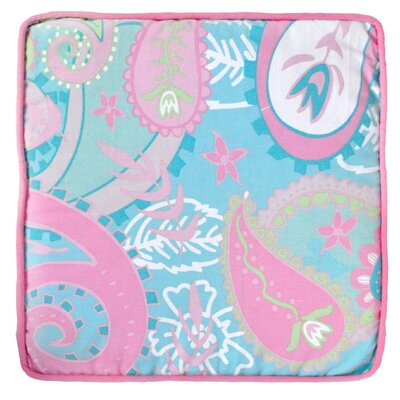 Pixie Baby Cotton Throw Pillow Color: Aqua