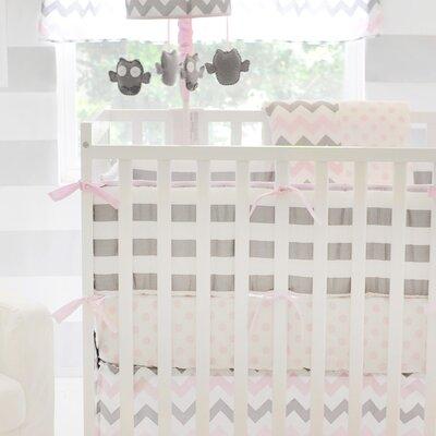 Chevron Baby Crib Bumper