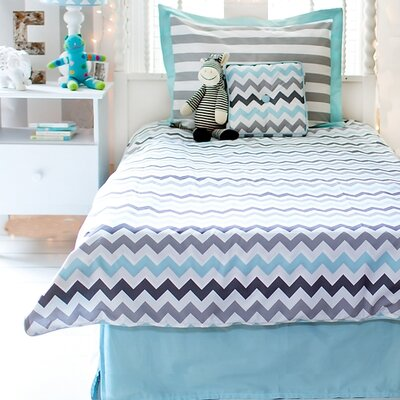 Chevron Baby 4 Piece Comforter Set Size: Full