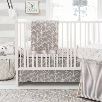 My Baby Sam Little Explorer 3 Piece Crib Bedding Set CRIB3177