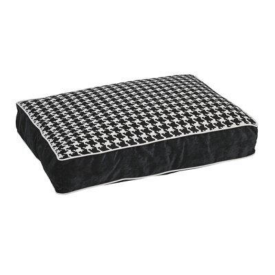Super-Loft Rectangle Dog Bed Size: Large - 36 L x 26 W, Color: Ascot