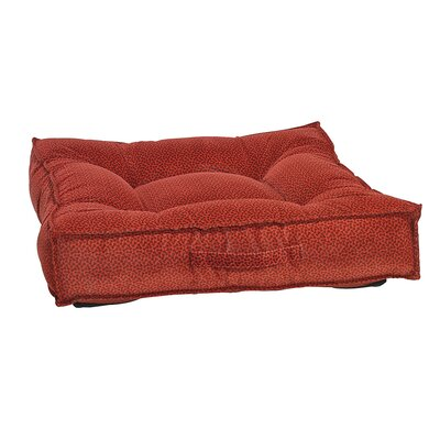 Piazza Dog Bed Color: Cherry