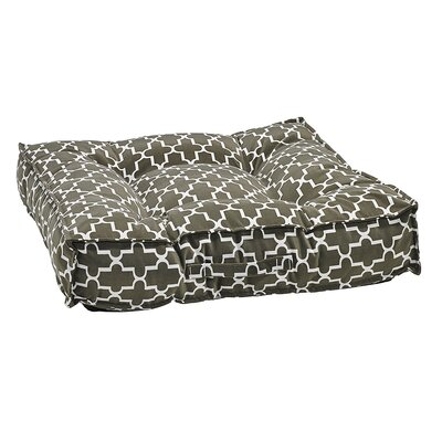 Piazza Dog Bed Size: X-Large - 40 L x 40 W, Color: Graphite