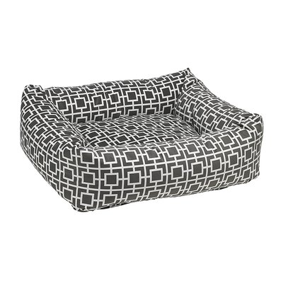 Dutchie Dog Bed Color: Gray, Size: Large - 35 L x 32 W