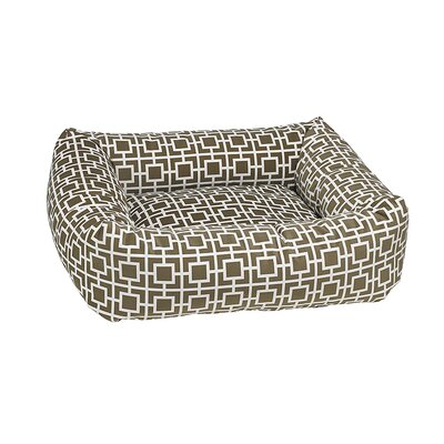 Dutchie Dog Bed Size: Small - 21 L x 19 W, Color: Taupe