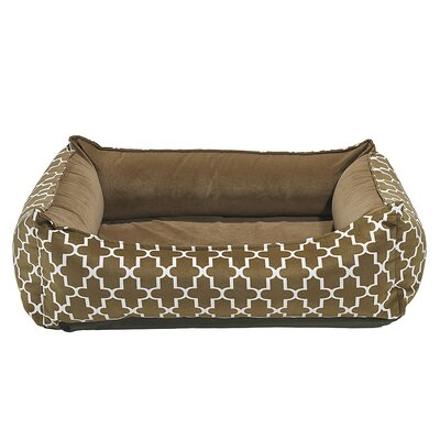 Oslo Ortho Dog Bed Color: Cedar, Size: X-Large - 47 L x 35 W