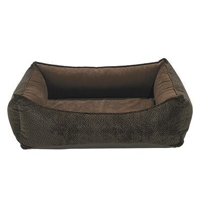 Oslo Bolster Dog Bed Size: Large - 30 L x 39 W, Color: Chocolate
