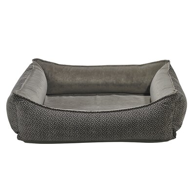 Oslo Bolster Dog Bed Size: X-Large - 35 L x 47 W, Color: Pewter