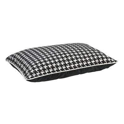 Designer Rectangle Dog Bed Color: Ascot, Size: Large - 46 L x 35 W