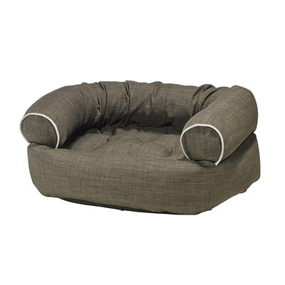 Double-Donut Dog Bed Size: Medium - 35 L x 27 W, Color: Driftwood