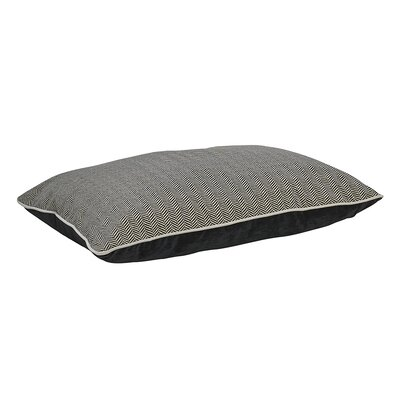 Designer Rectangle Dog Bed Size: Large - 36